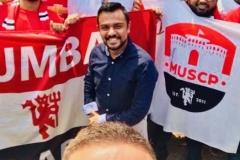 Nemanja Vidic with MUSC Pune and MUSC Mumbai