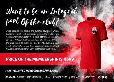 musc pune membership